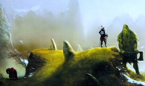 "Inspiration of Medieval Language & Literature: J.R.R. Tolkien, ""Sir Gawain & the Green Knight"" (art by John Howe)"