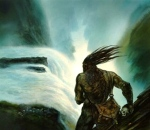 "Inspiration of Medieval Language & Literature: ""Beowulf"" (""Grendel,"" art by John Howe)"