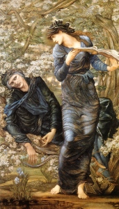 "Inspiration of Medieval Language & Literature: ""The Beguiling of Merlin"" (Edward Burne-Jones, 1872-1877)"