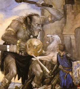 "Inspiration of Medieval Language & Literature: ""The Mabinogion"" (art by Alan Lee)"