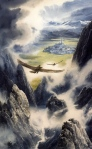 "Inspiration of Medieval Language & LIterature: J.R.R. Tolkien, ""The Children of Hurin"" (art by Alan Lee)"