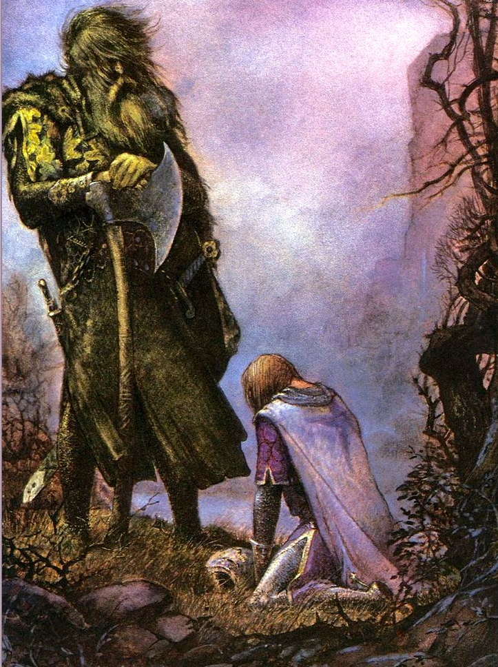 an analysis of tolkiens sir gawain and the green knight Early years john ronald reuel tolkien's  summary and analysis  his academic writing includes a translation of sir gawain and the green knight and.