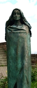 Inspiration of Medieval Language & Literature: Hildegard of Bingen (Statue, n.d. Abbey Church of St. Hildegard, Rudesheim am Rhein, Germany, 1900–09)