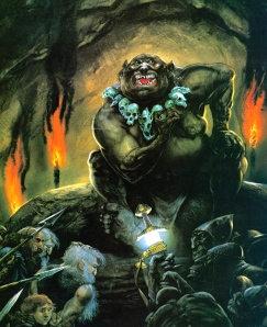 "Tolkien, ""The Great Goblin,"" from ""The Hobbit"" (art by John Howe)"
