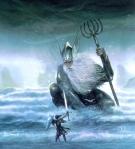 "Tolkien, ""Ulmo, Lord of Waters"" (art by John Howe)"