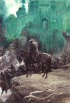 "J.R.R. Tolkien, ""The Witch King of Angmar"" (by Alan Lee)"