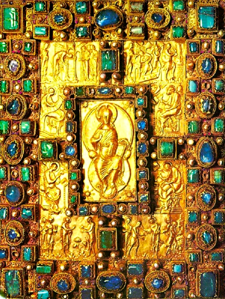 "Medieval Language & Literature: A Work of Monastic, Carolingian Elites: The ""Codex Aureus of St. Emmeram,"" 870 (Carolingian Art)"