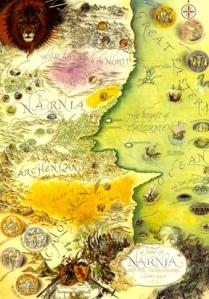 C.S. Lewis's Narnia (art by Pauline Baynes)
