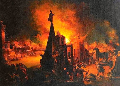 "Inspiration of Medieval Language & Literature: Auerbach's ""Ch. 4, The Western Public and Its Language"" (""The Burning of Troy,"" from Ovid's ""Metamorphoses,"" Bk 13; Johann Georg Trautmann, 1713–1769)"