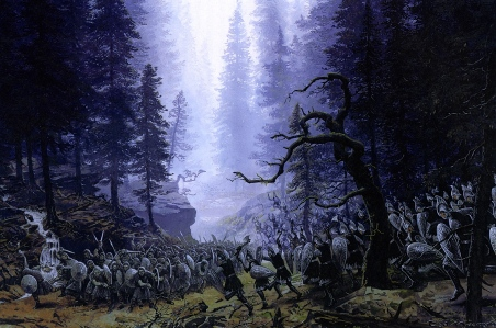 "J.R.R Tolkien, ""The Ruin of Beleriand,"" from ""The Silmarillion"" (Ted Nasmith)"