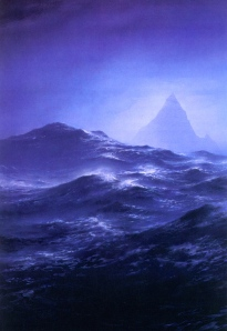"J.R.R. Tolkien, ""The Sea"" (from ""The Silmarillion,"" Ted Nasmith)"