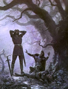 "J.R.R. Tolkien, ""The Silmarillion"" (""Beleg is Slain,"" Ted Nasmith)"