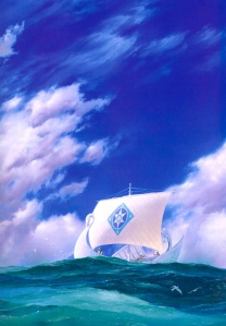 "J.R.R. Tolkien, ""The Silmarillion"" (""Earendil the Mariner,"" Ted Nasmith)"