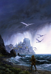 "J.R.R. Tolkien, ""The Silmarillion"" (""Of Tuor & the Fall of Gondolin,"" Ted Nasmith)"