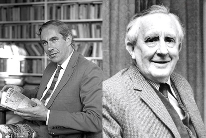 "The Gambler & The Dreamer: Rayner had believed in Tolkien since age 10 -- at age 28 took a chance with Tolkien's ""The Lord of the Rings"" and the rest is history! (Rayner Unwin & J.R.R. Tolkien)"