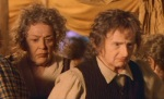 "Lobelia & Otho Sackville-Baggins, in Jackson's ""The Fellowship of the Ring"" (2001)"