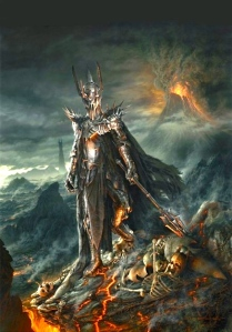 Sauron (John Howe & Alan Lee Concept art)