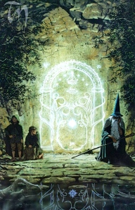 "Tolkien, ""The Fellowship of the Ring"" (art by Ted Nasmith)"