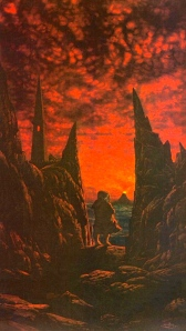 "J.R.R. Tolkien, ""The Return of the King"" (""Sam Enters Mordor Alone,"" by Ted Nasmith)"