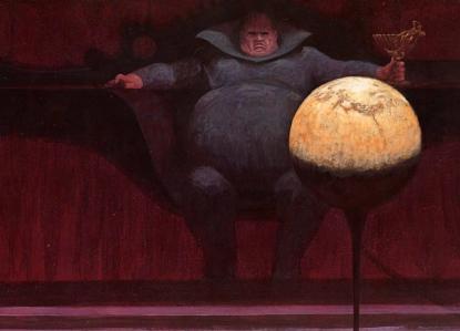 """Frank Herbert's """"Dune"""" (""""Baron Vladimir Harkonnen,"""" by John Schoenherr)"""