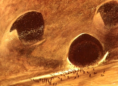 "Frank Herbert's ""Dune"" (""The Defeat of the Sardaukar,"" art by John Schoenherr)"