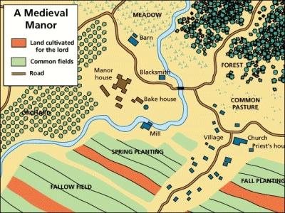 Medieval Manor (Holt, Rinehart, & WInston Texts)