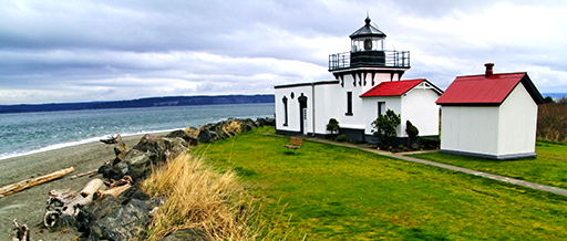 Point No Point Lighthouse (Kitsap Peninsula, WA)