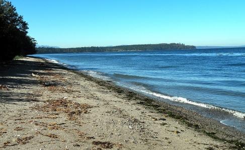 Hansville Beach, Kitsap Peninsula, WA