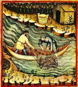 Medieval Net Fishing