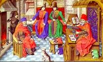 Medieval University Classroom