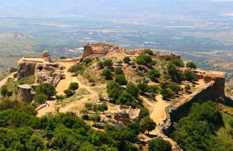 "Inspiration of Medieval Language & Literature: Chansons de Geste (""Nimrod Fortress,"" or Qala'at al-Subeiba, a Crusader castle on Mt. Hermon, Israel — named after the Biblical hunter)"