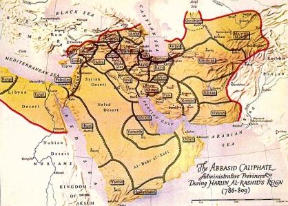 Abbasid Caliphate (c. 786-809, reign of Harun al-Rashid); Princeton University)