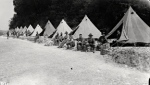 Bell Tents from World War I