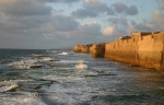 Inspiration of Medieval Lang & Lit: Chansons de Geste (Crusader Sea Walls, Acre)