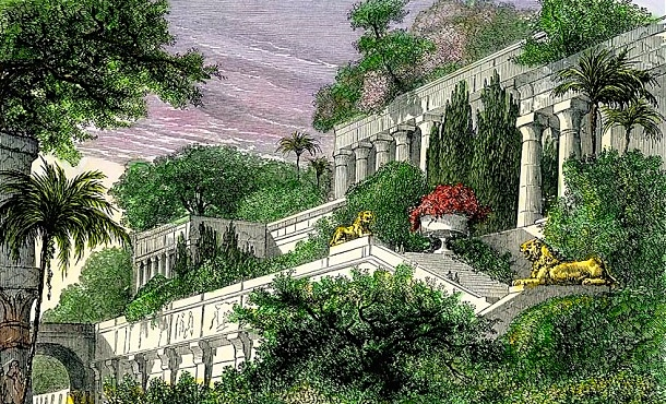 Medieval epic fantasy the modern middle east a j carlisle for When was the hanging gardens of babylon destroyed