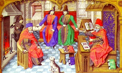 Medieval University Life: Professors & Students