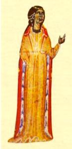 Beatriz de Dia (from Bibliothèque Nationale, MS cod fr. 12473, 13th c.)
