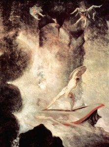 "Inspiration of Ancient and Medieval Ideas: ""Odysseus in Front of Scylla & Charybdis"" (Johann Heinrich Füssli, 1794-1796)"