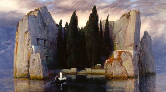 "Inspiration of Ancient & Medieval Ideas: ""The Isle of the Dead"" (""Die Toteninsel,"" Arnold Böcklin, c. 1880-1886)"