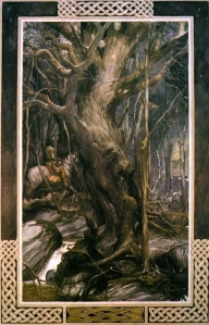 "Inspiration of Medieval Language and Literature: Romance Tropes in ""The Mabinogion"" (""Pwyll, Price of Dyfed,"" by Alan Lee"