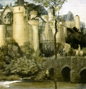 "Inspiration of Medieval Language & Literature: Romance Tropes in ""The Mabinogion"" (Alan Lee)"