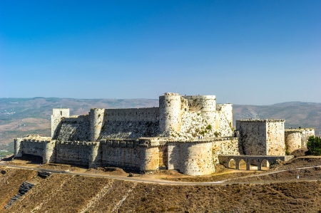 "Inspiration of Middle Eastern Lands: The Krak des Chevaliers, Syria (A 12th Century Nexus for 3 Religions & Norse Mythology Collide in ""The Codex Lacrimae"")"