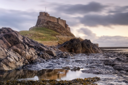 Inspiration of Norse Mythology & Medieval European Epic Fantasy (Lindisfarne Castle, Northumbria, area of 8th Century Viking Raids)