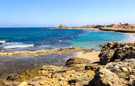 "Carlisle's Nine Worlds: Midgard — Crusader Lands of the 12th Century Levant (Caesarea Maritima, where Clarinda Trevisan accepts her Fate in ""The Codex Lacrimae"")"