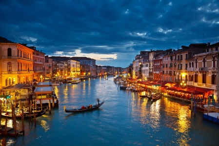 "Inspiration of Mediterranean Lands: Grand Canal, Venice (homeland of Clarinda Trevisan in ""The Codex Lacrimae"")"