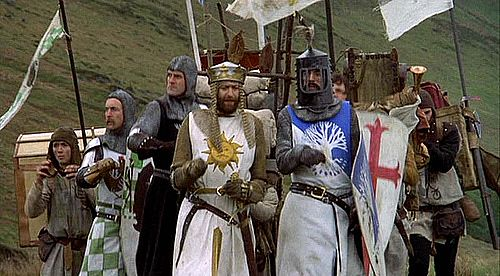"Inspiration of Medieval Language & Literature: ""Monty Python and the Holy Grail"" (1975)"