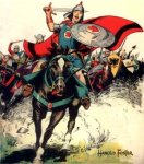 "Inspiration of Medieval Language & Literature: ""Prince Valiant"" (Hal Foster)"