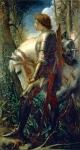 Arthurian Knights: Sir Galahad (G.F. Watts,  d. 1904)