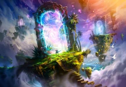 """""""Portals 7th Heaven"""" (illustration by Ivany86 @ deviantart.com"""