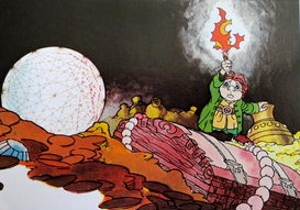 """Bilbo finds the Arkenstone..."" (""The Hobbit,"" Rankin-Bass, 1977)"